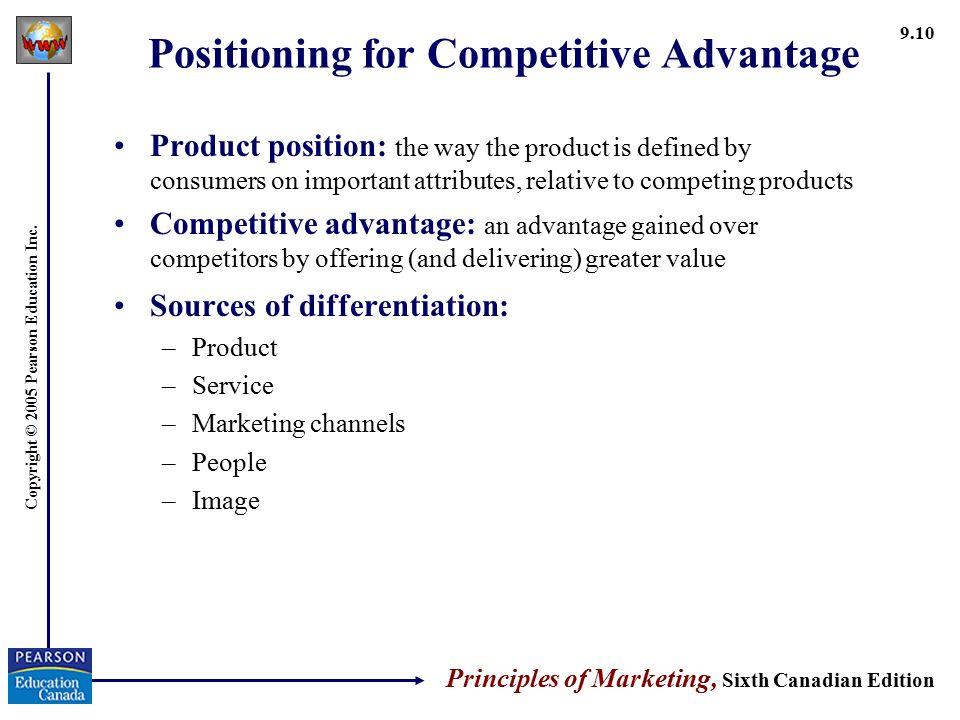 principles of marketing sixth canadian edition pdf