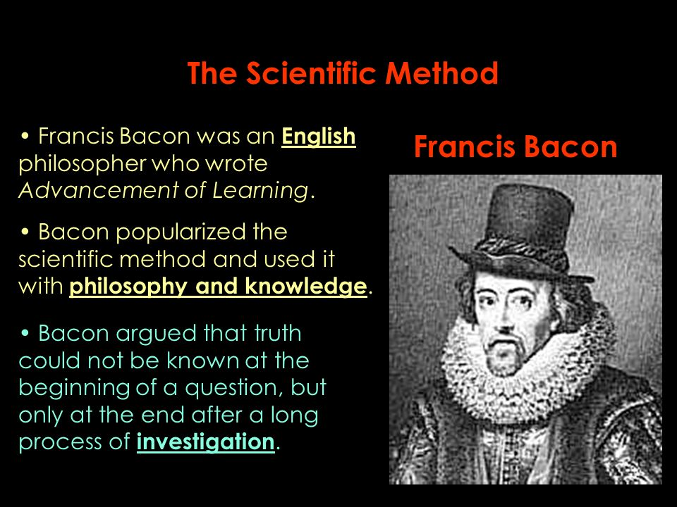 scientific method and seeking knowledge and truth Scientific method definition is - principles and procedures for the systematic pursuit of knowledge involving the recognition and formulation of a problem, the collection of data through observation and experiment, and the formulation and testing of hypotheses.