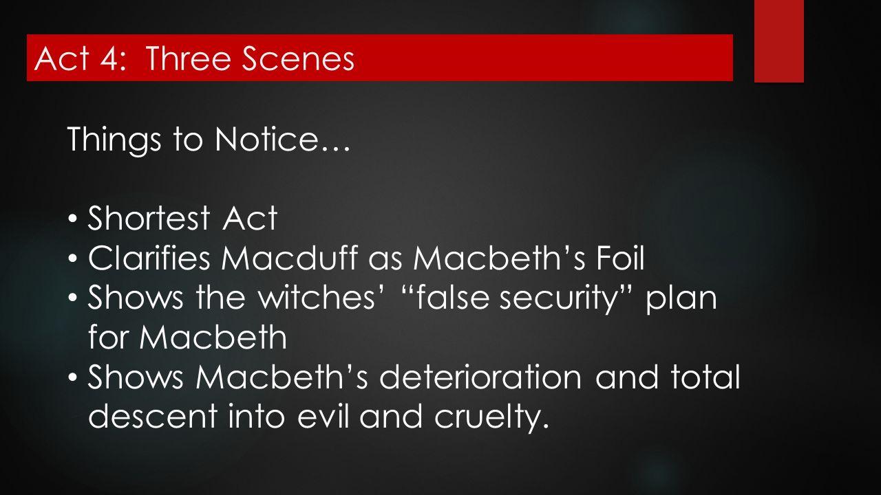 macduff as foil for macbeth