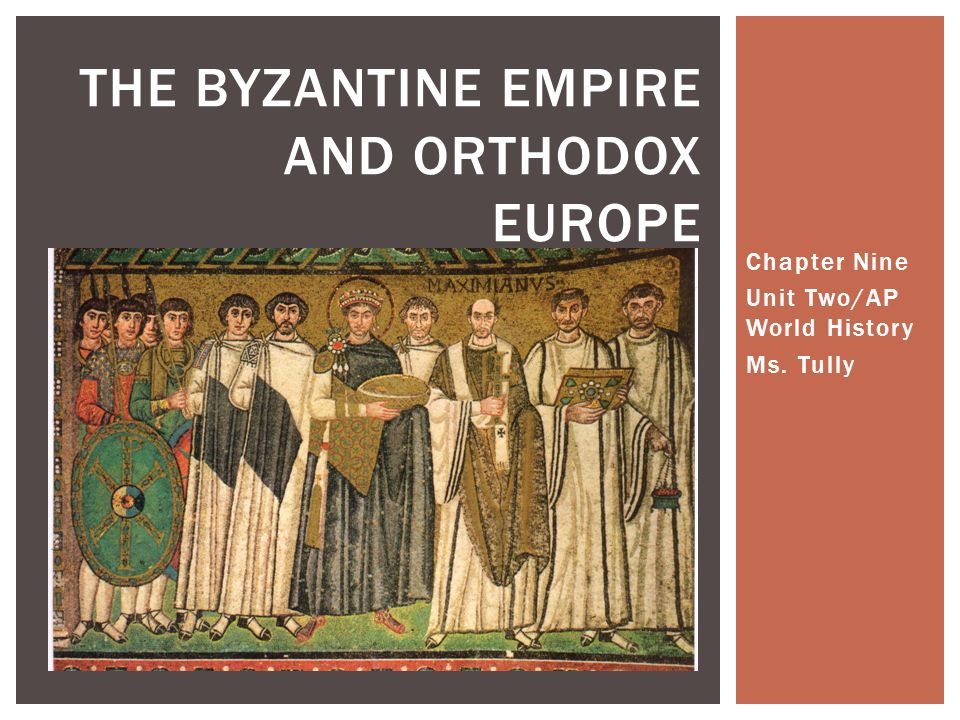 The byzantine empire and western europe