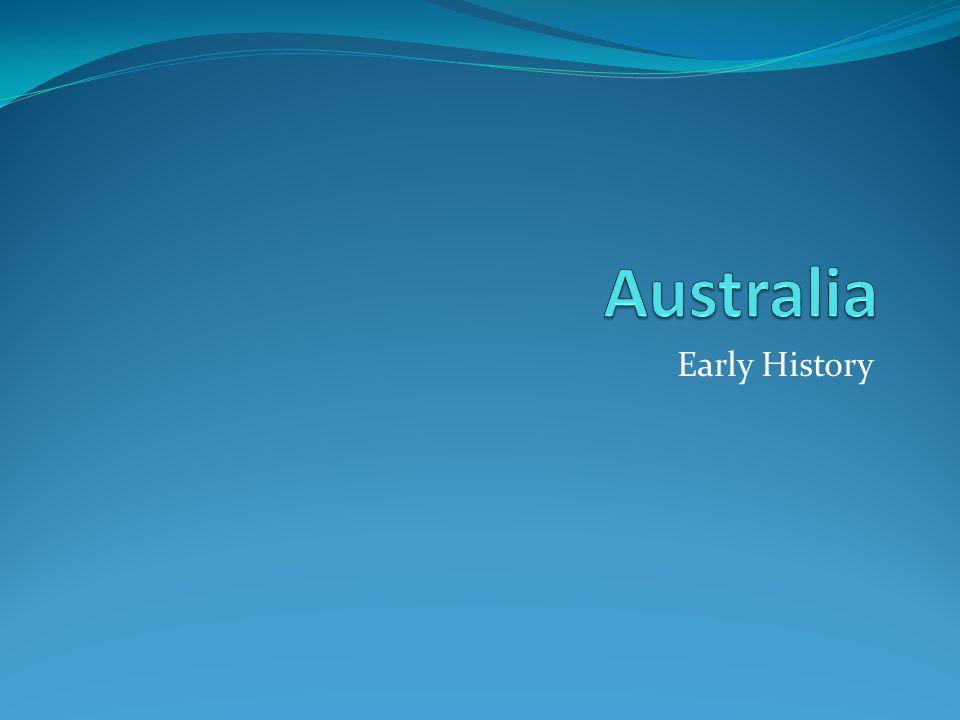 Australia Early History