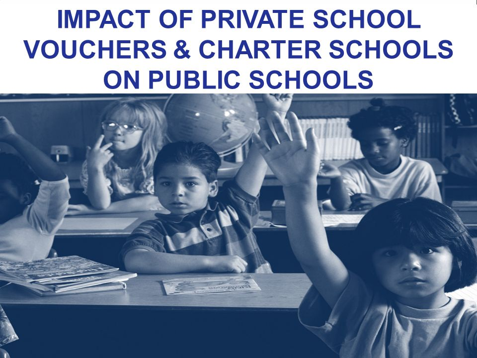 "the impact of school vouchers on american public education Oppose public school choice programs, which allow students to choose a public   the school systems that educate 90 percent of america's students is not a  fiscally sound  addition, while ""the program had a positive impact on overall  parent."