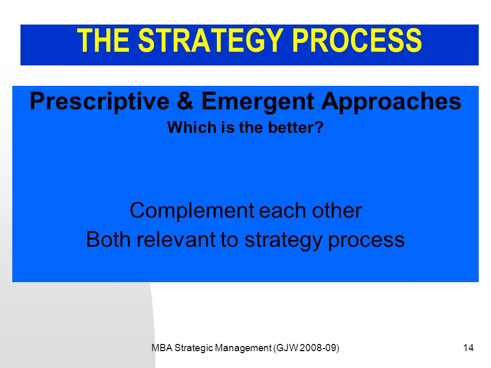 prescriptive and emergent strategies Connect to download get pdf emergent strategy development for organizations.