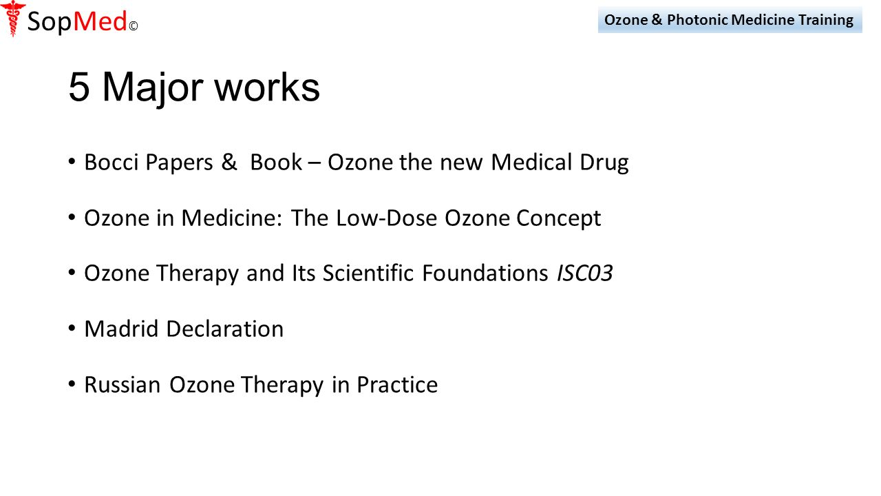 ozone therapy research papers The dove clinic continues at the forefront of research into complementary medicine for life threatening illness, for information, papers, research and links to other sites ozone therapy - click here antioxidants - an unusual view - click here.