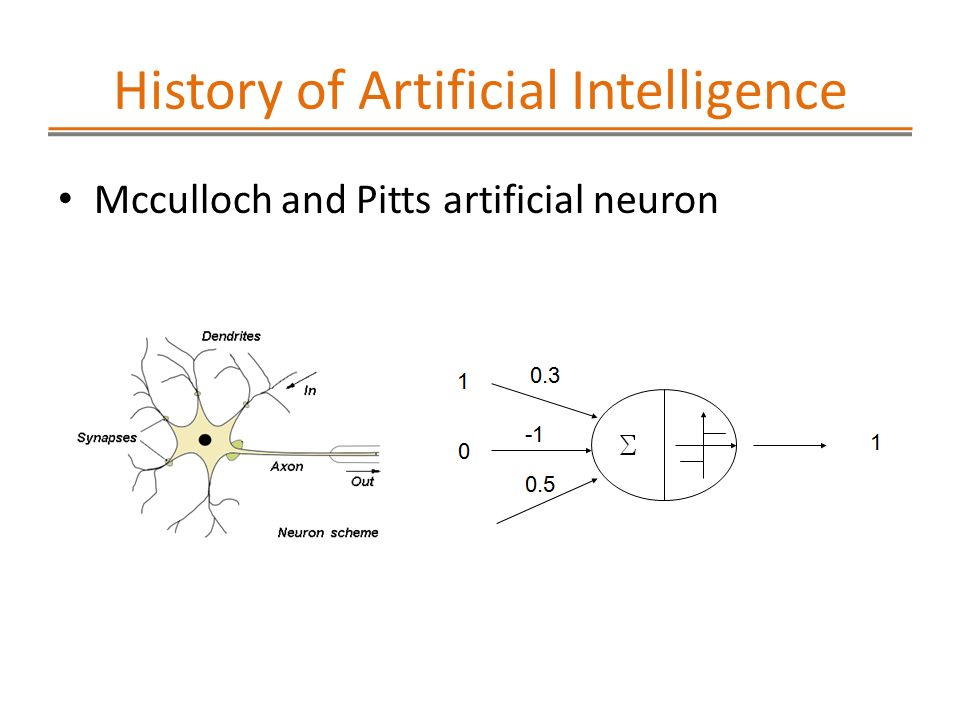 an introduction to the history of artificial intelligence Learn artificial intelligence basics is a field that has a long history but is still constantly and actively growing and changing some of the topics in introduction to artificial intelligence will build on probability theory and linear algebra.