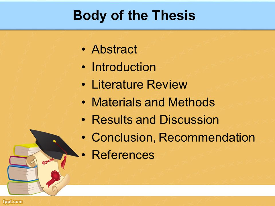 Abstract literature review