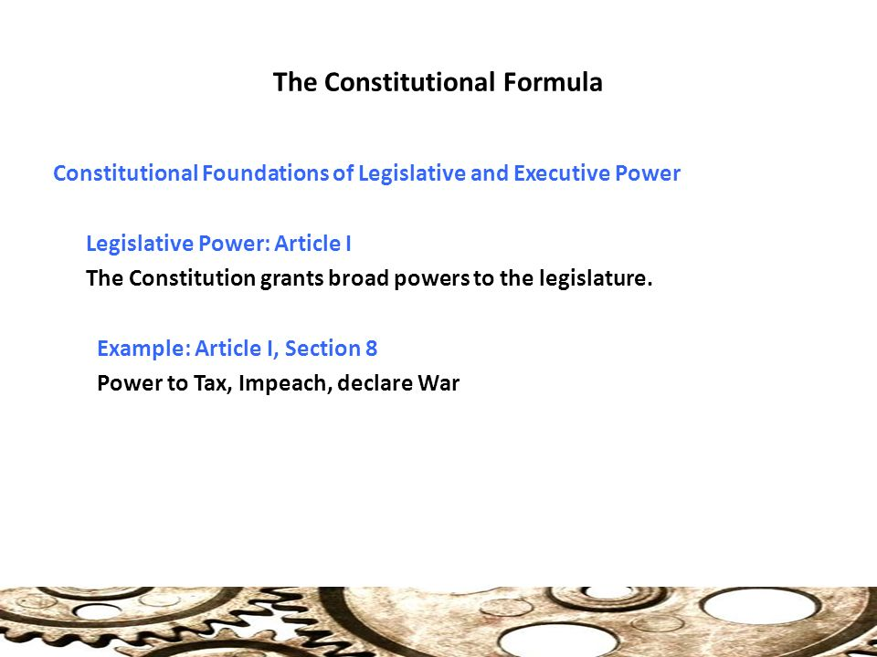 Presidential Relations With Congress Ppt Video Online Download