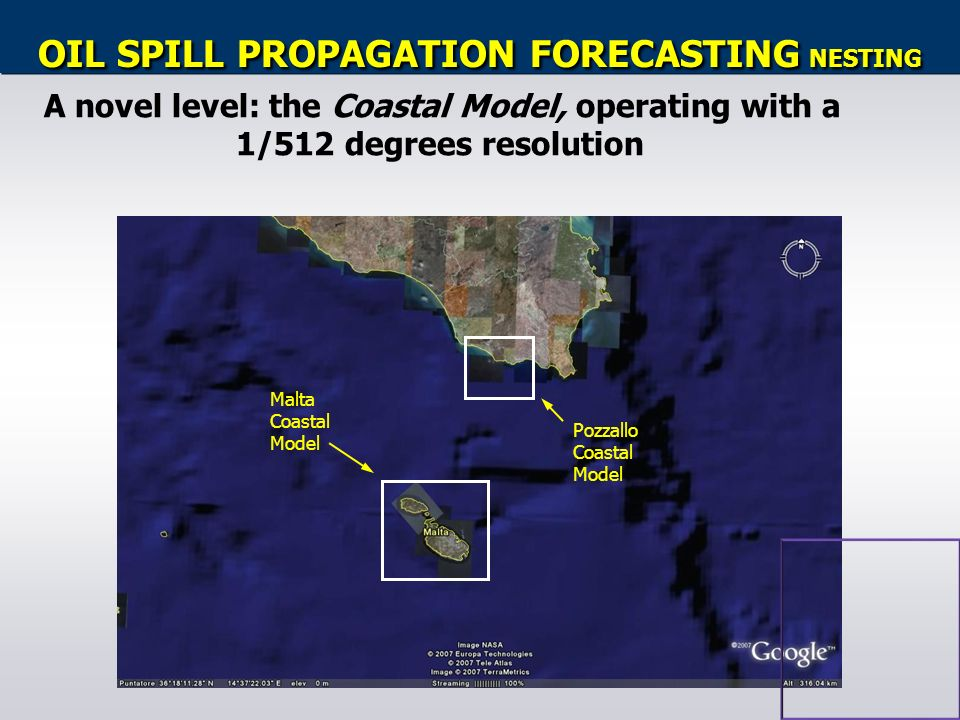 OIL SPILL PROPAGATION FORECASTING NESTING