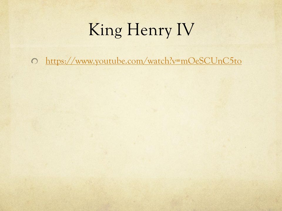the theme of political power and english kingship in the play henry iv Teaching henry iv part 1 the themes of the this play, particularly the dilemmas faced by young prince hal websites and a bibliography of articles that will aid in teaching this play main characters king henry the fourth of england—father of both henry.