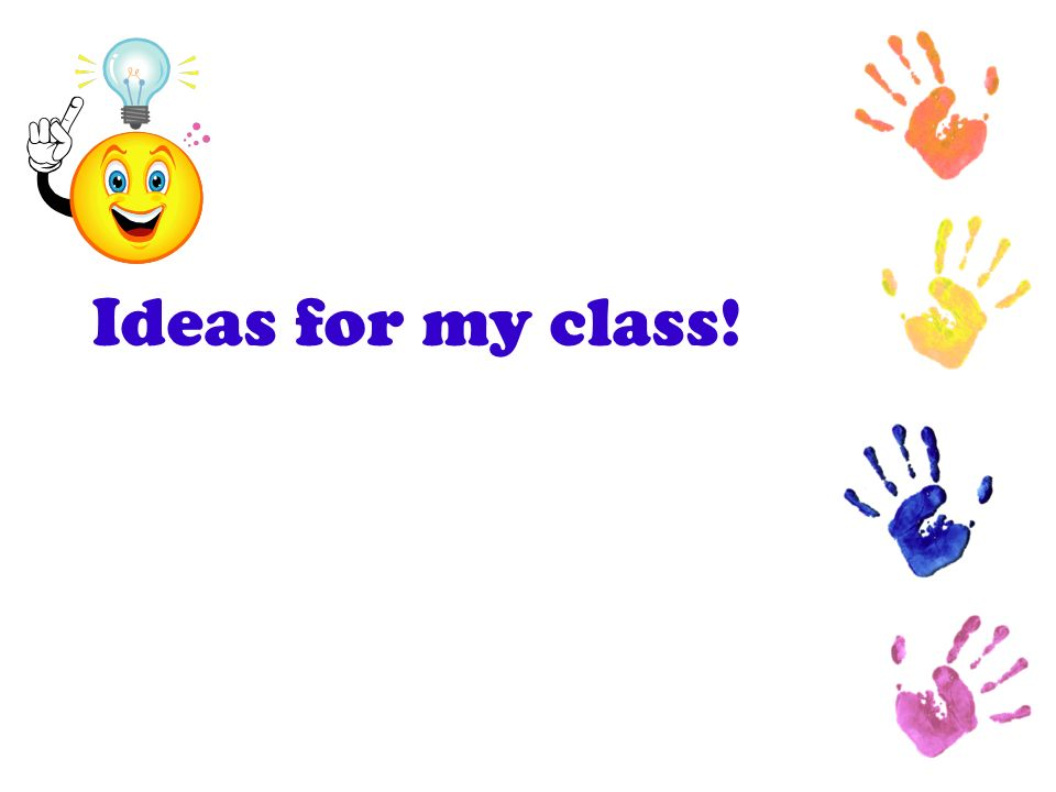 Ideas for my class. List individually how they can use this in their room….