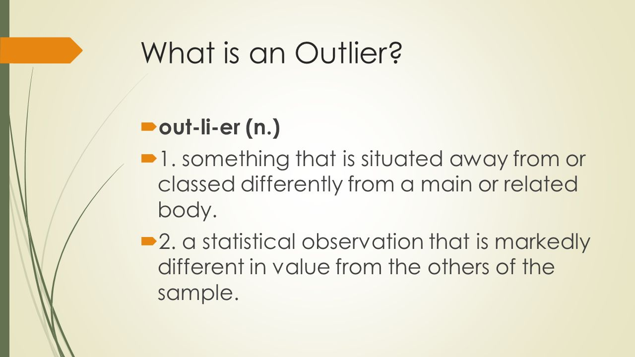 the story of success by malcolm gladwell ppt video online what is an outlier out li er n