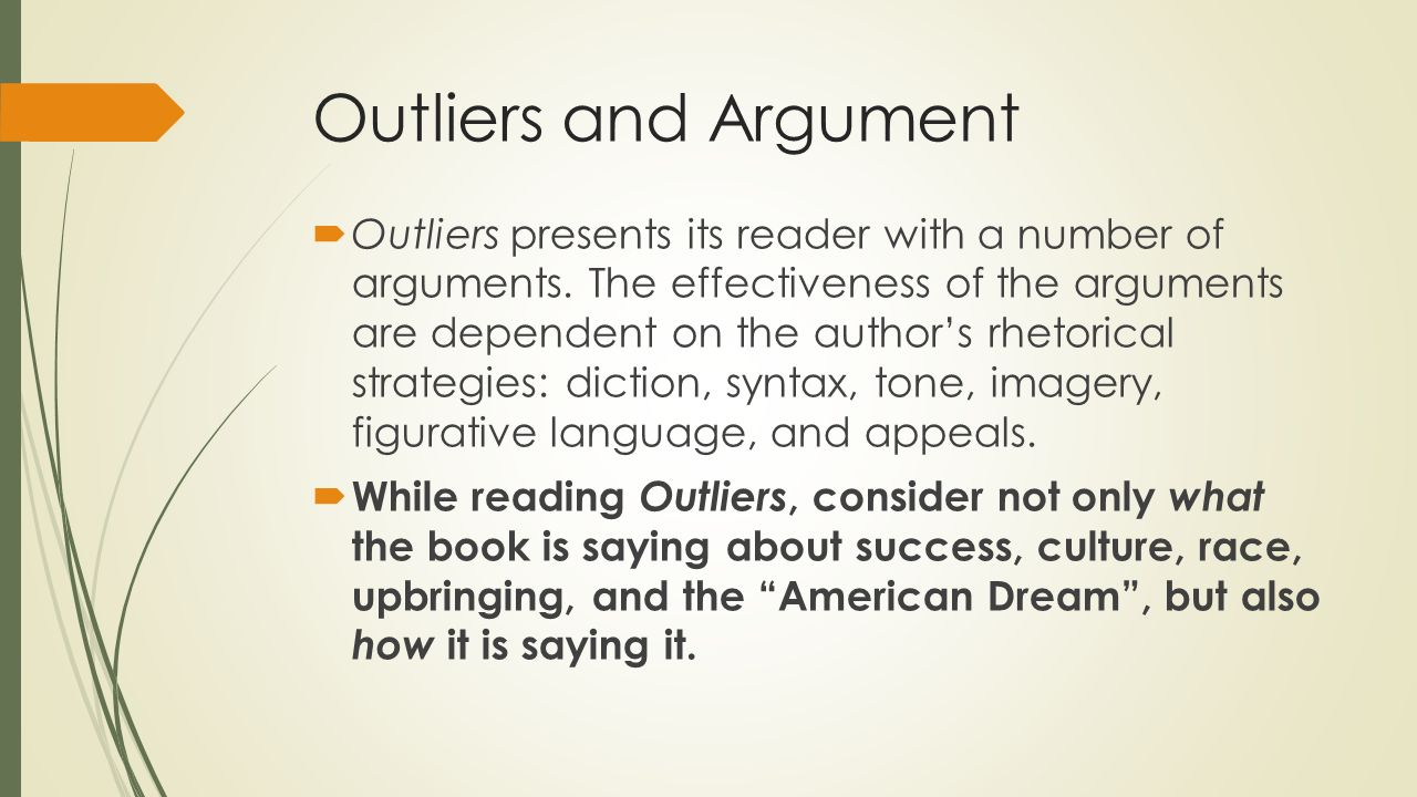 malcolm gladwell essays online Home essays quotes from the outliers quotes from the outliers (computer lab) monday, final copy due wednesday (printed paper copy due in class) you must also submit your essay online to wwwturnitin in outliers chapter 1, malcolm gladwell writes: it's not.