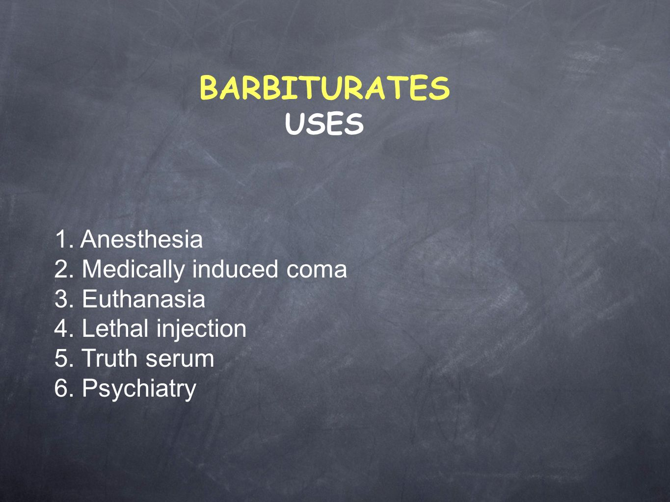 a study of a barbiturate induced coma A barbiturate-induced coma , or barb coma , is a temporary coma (a deep state of unconsciousness ) brought on by a controlled dose of a barbiturate drug, usually pentobarbital or thiopental.