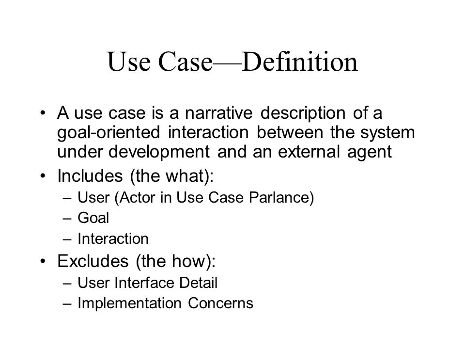 Capturing and exploring requirements with use cases and for Use case narrative template doc