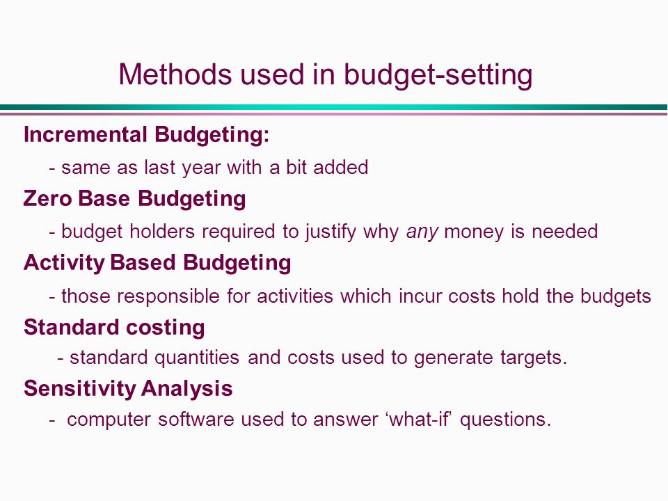 Benefits of Activity-Based Budgeting Essay Sample