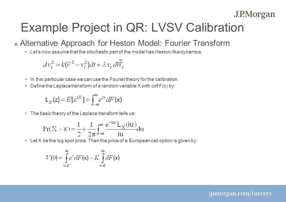 Example project in qr lvsv calibration