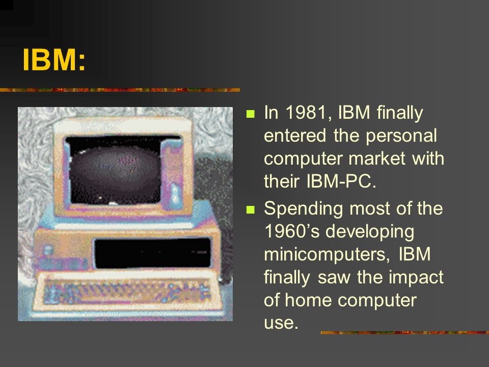 the effect of a personal computer The landmark personal computer, introduced by ibm 30 years ago friday,  launched the pc revolution, changing the way people work,.