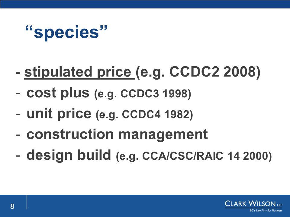 Raic Design Build Contract