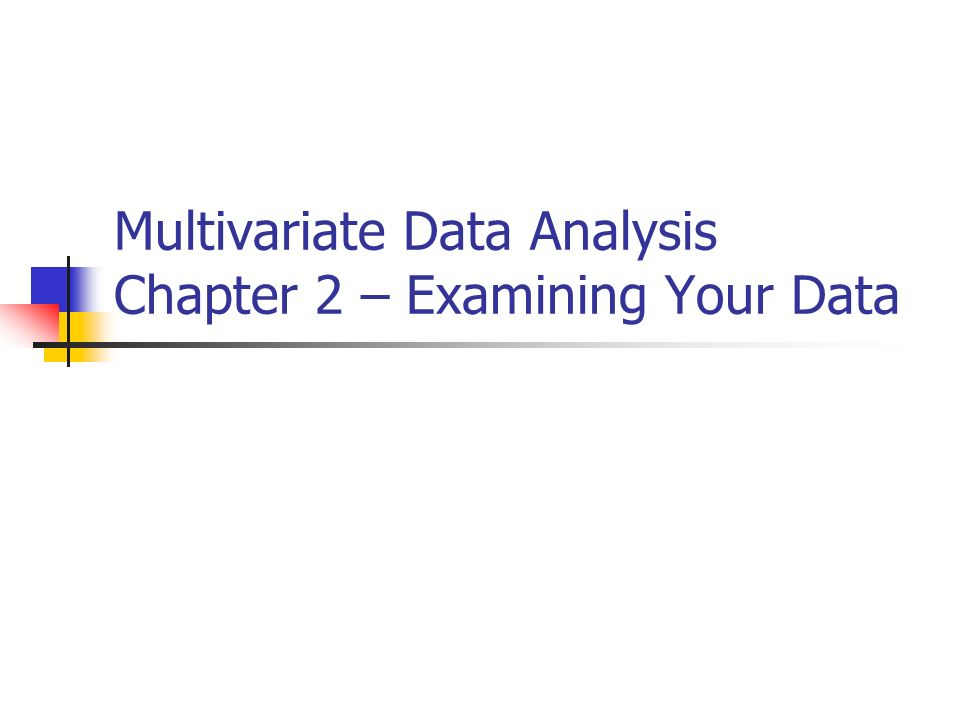 analysis of chapter 1 and 2 Chapter 14 factor analysis 141 introduction factor analysis is amethod for investigatingwhether anumber ofvariables ofinterest y 1, y 2, :::, y l, are linearly related to asmaller number ofunob.