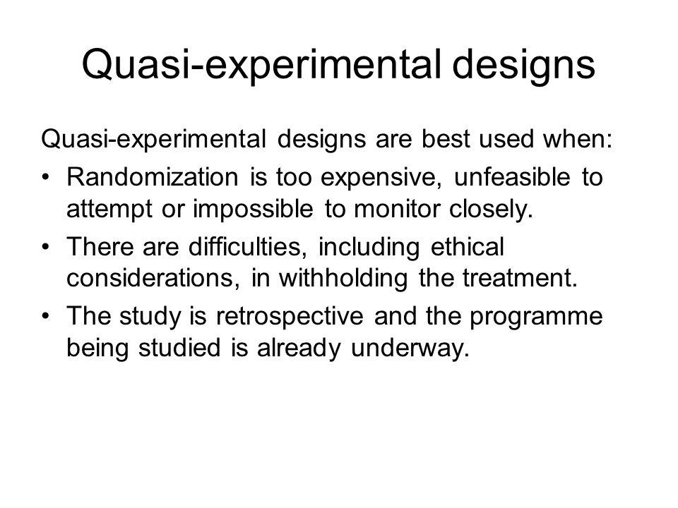 quasi experiments essay