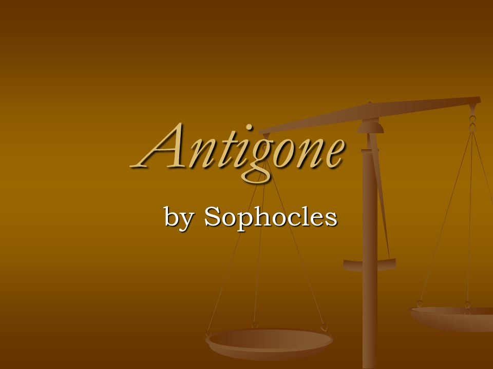 passage analyis of antigone by sophocles