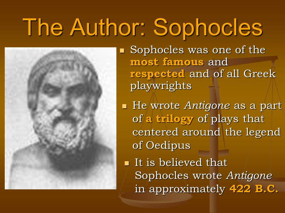 the essential role of the chorus in antigone by sophocles Sophocles taught his antigone to a chorus of fifteen young men for the contest in   his audience, for these had been the duties of poets since time immemorial   meanings and nuances than the basic order in english of subject-verb-object.