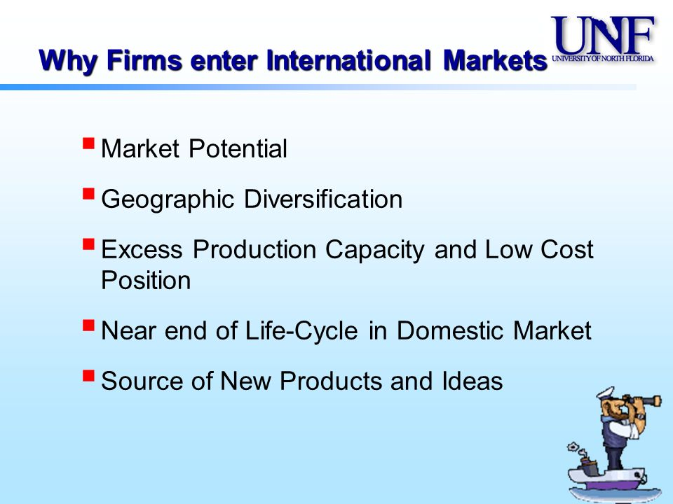 potential problems faced by businesses that trade internationally when entering new markets