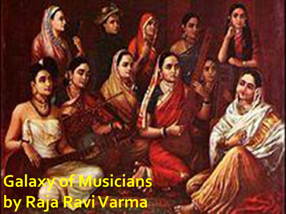 Galaxy of Musicians by Raja Ravi Varma