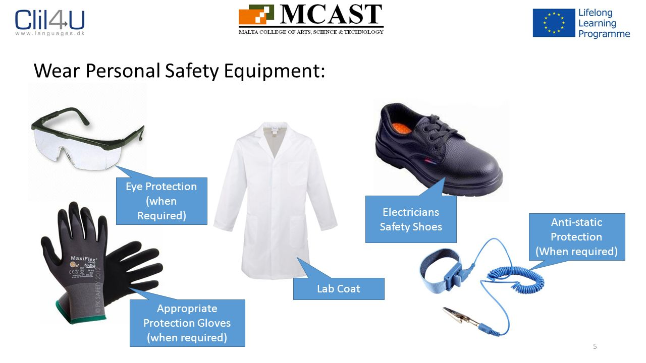 Introduction to the electronics laboratory ppt download wear personal safety equipment buycottarizona