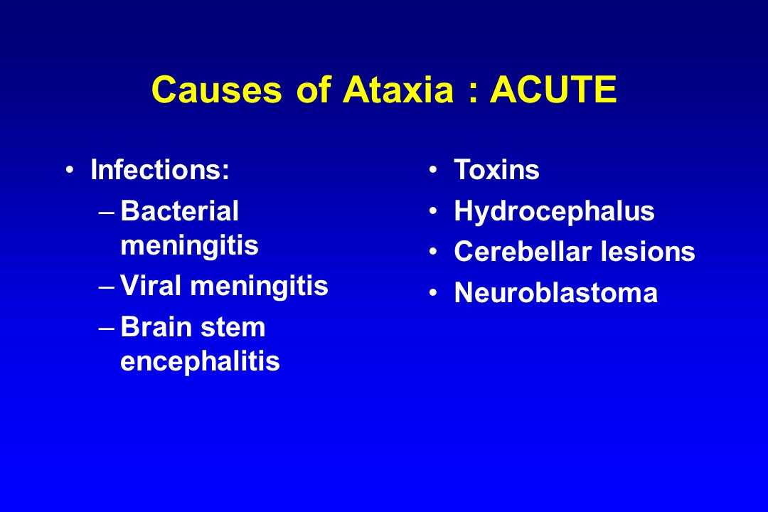 Ataxia in Children B.S.Rao MD Dept. of Pediatrics S ...