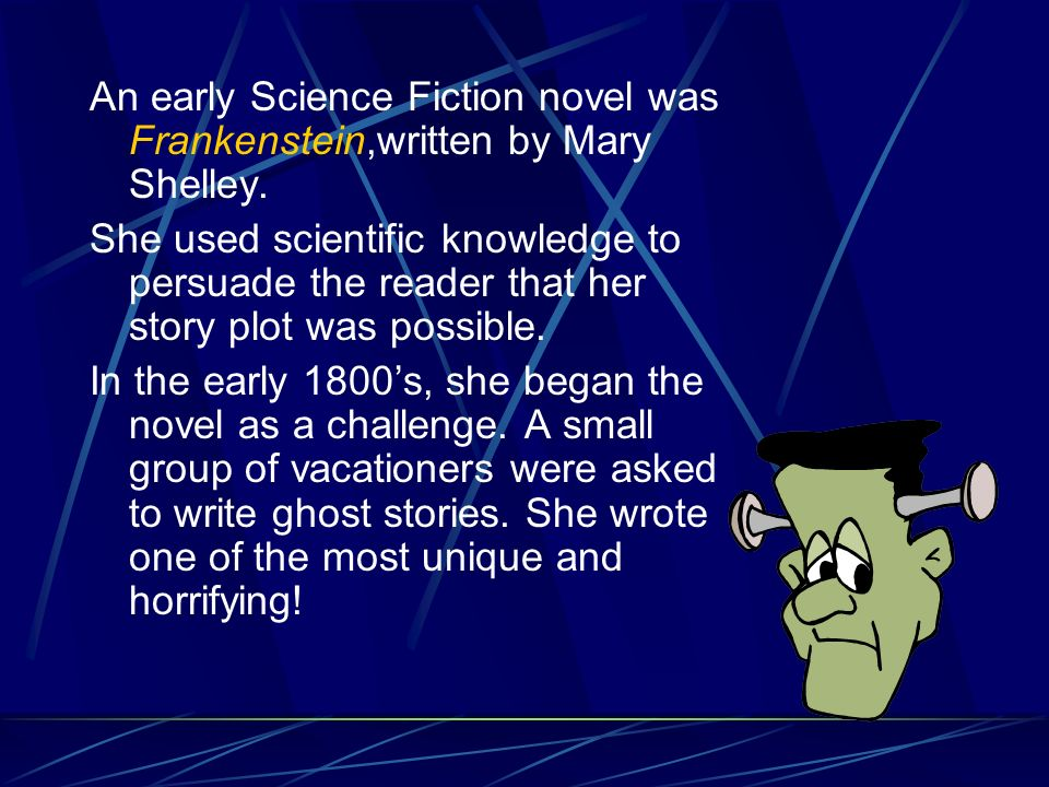 Mary Shelley Construct Our RESPOND TO Frankenstein English Literature Essay