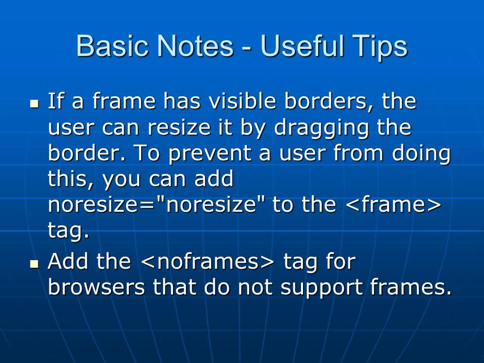HTML Frames. - ppt video online download