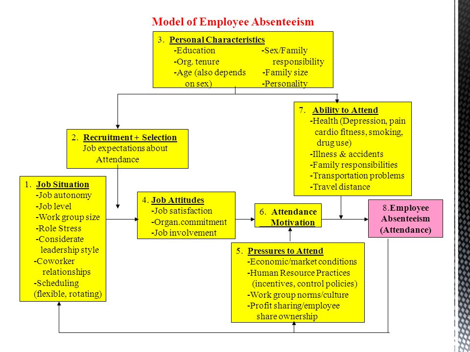 Absenteeism and Employee Turnover Essay Sample