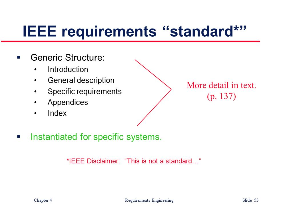Requirements engineering ppt video online download for Ieee definition