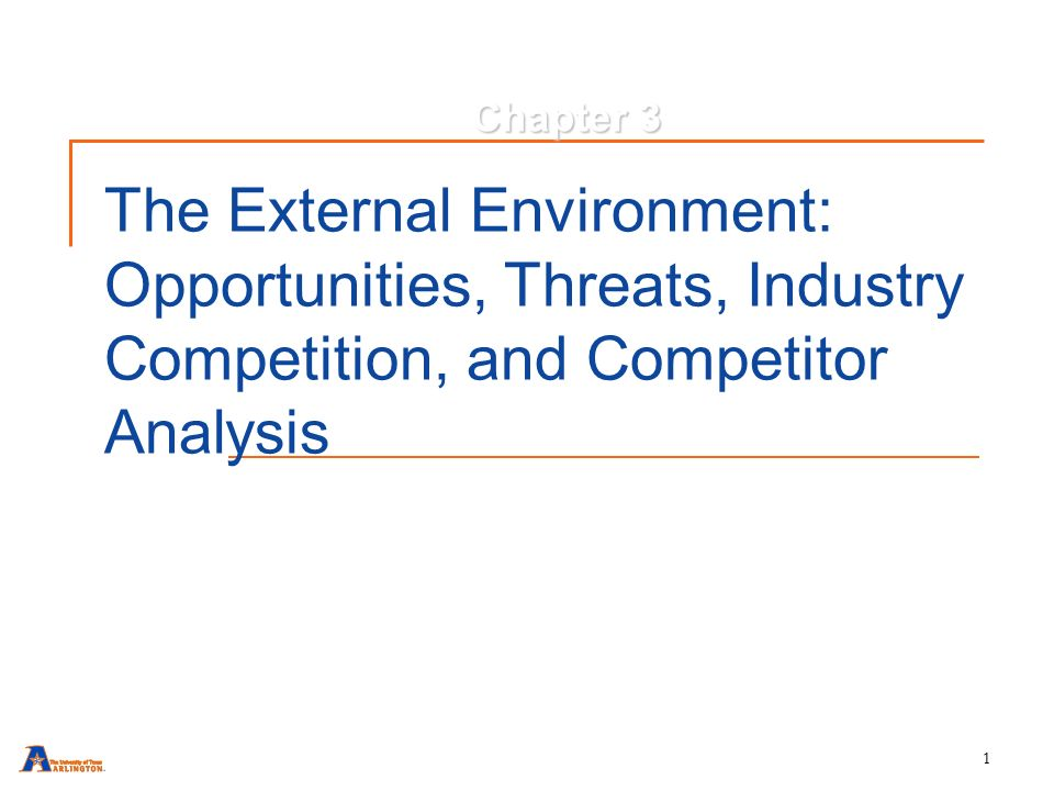 External And Internal Environmental Analysis Of Wal-Mart