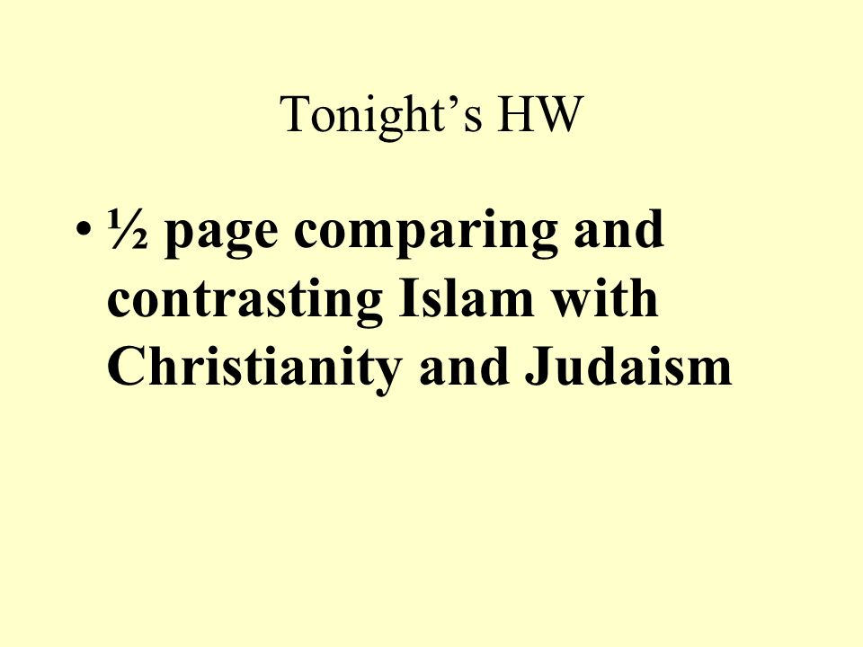 comparing and contrasting judaism and christianity Free essay: compare and contrast judaism and christianity judaism and christianity are key religions in the history of our world, and are still.