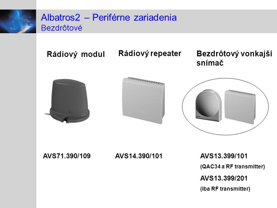 Albatros2 – Periférne zariadenia Bezdrôtové