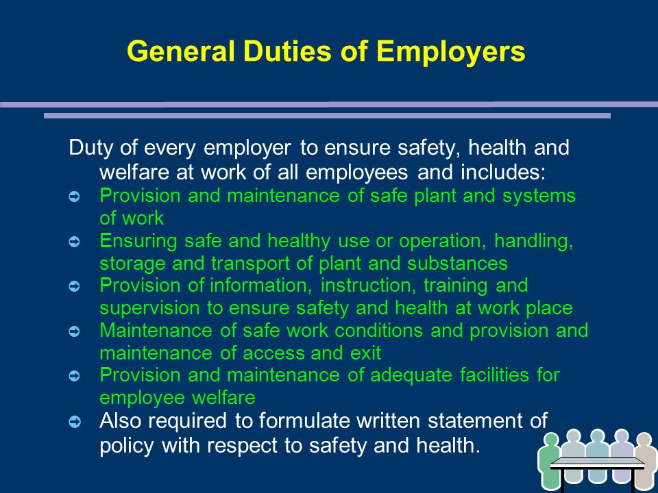 CHAPTER 14 – OCCUPATIONAL SAFETY AND HEALTH - ppt download