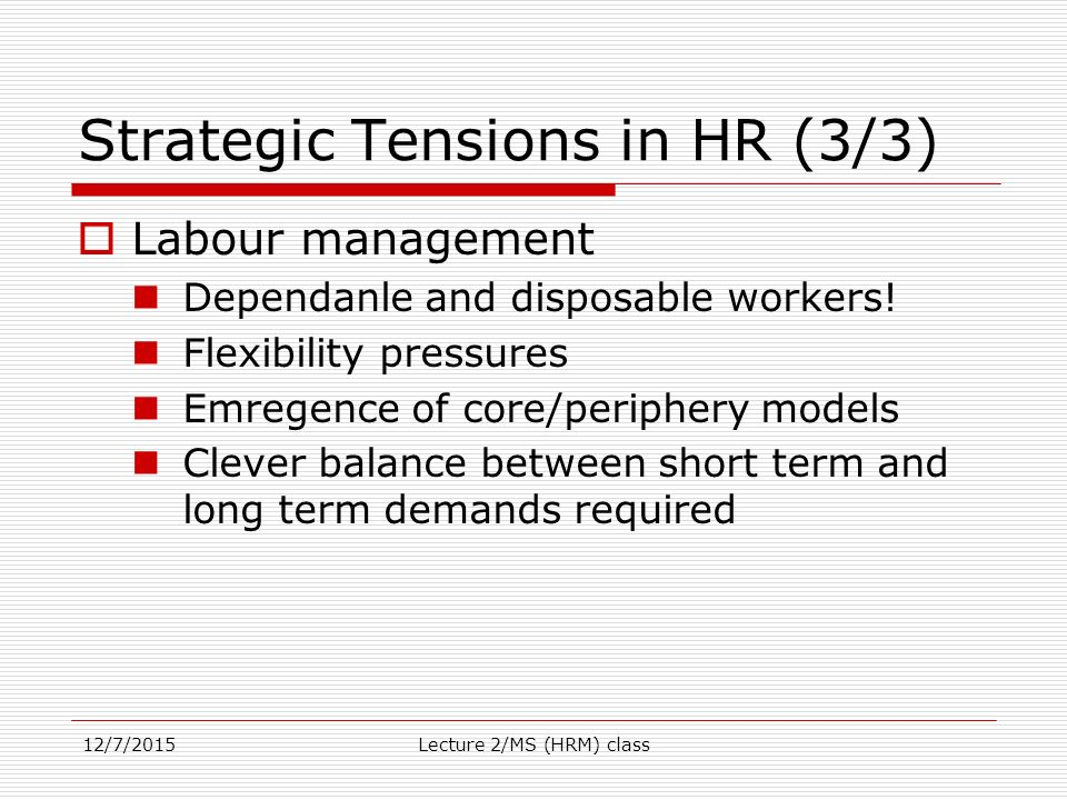 the strategic hrm debate and the The role of human resource management function is at a crossroad, on the one hand it is facing the crisis whereas there is an unprecedented opportunity to refocus its hrm systems as strategic assets (becker et al , 1997.