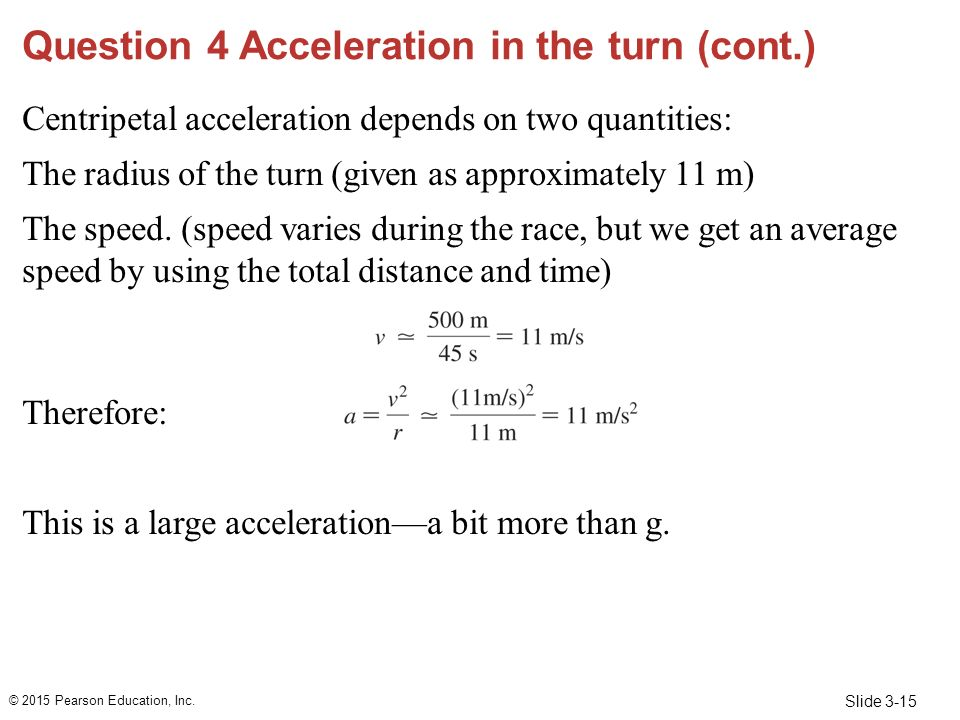 how to find centripetal acceleration given speed and radius