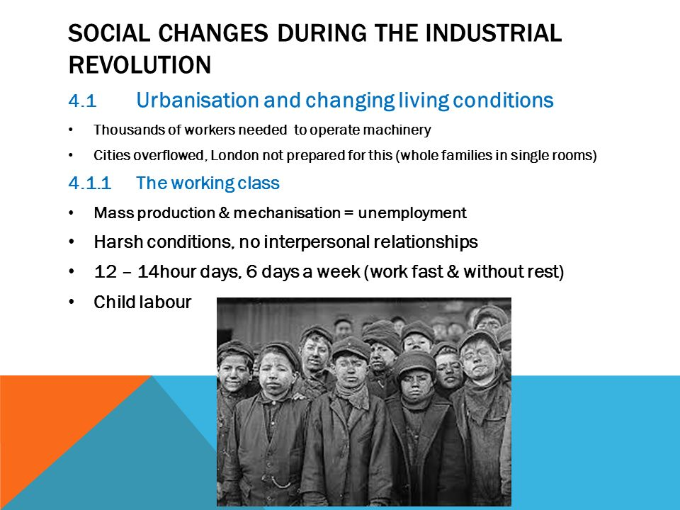 The Effects of Urbanization During the Industrial Revolution