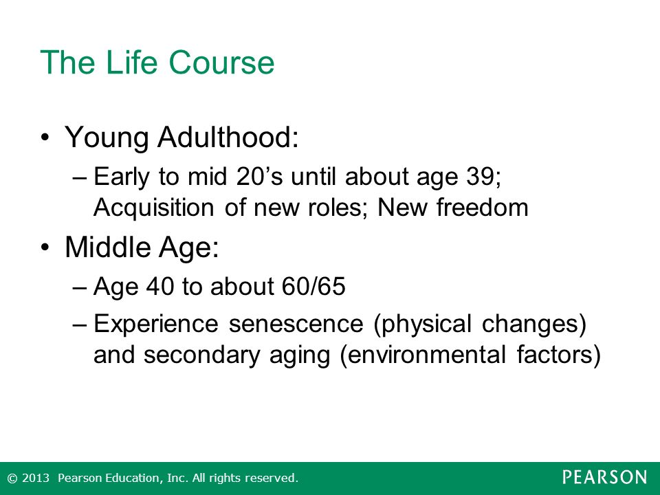 Aging and the Life Course An Introduction to Social Gerontology