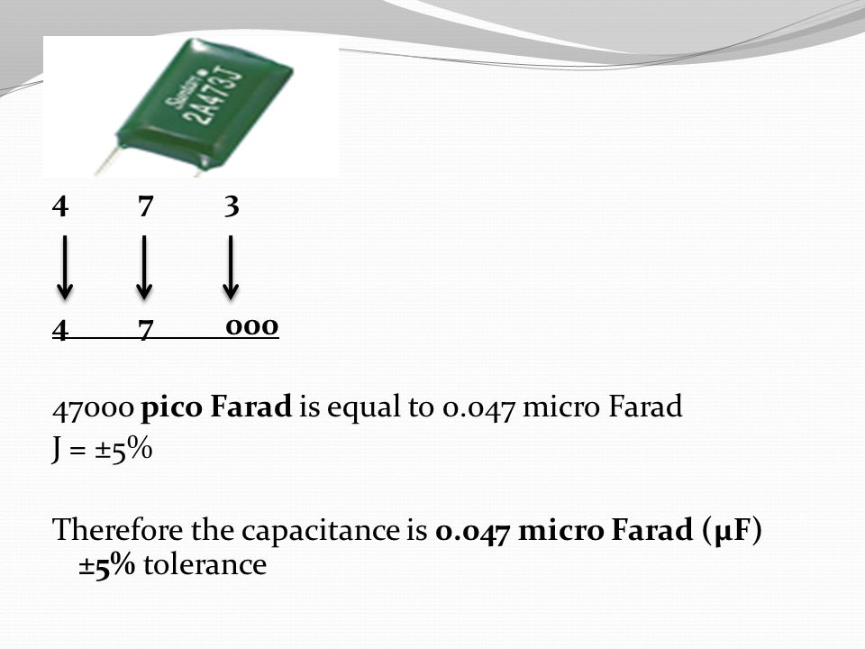 Capacitor Reading Ppt Download
