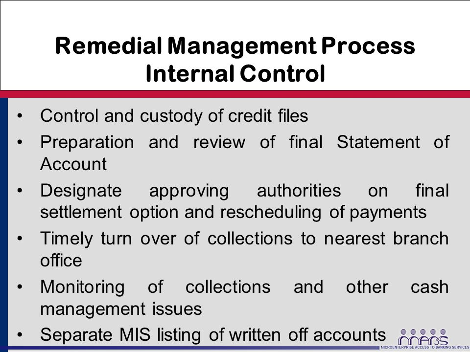 account internal control Definition of internal control:  internal audit evaluates mercer's system of internal control by  charges will be posted to the project account,.