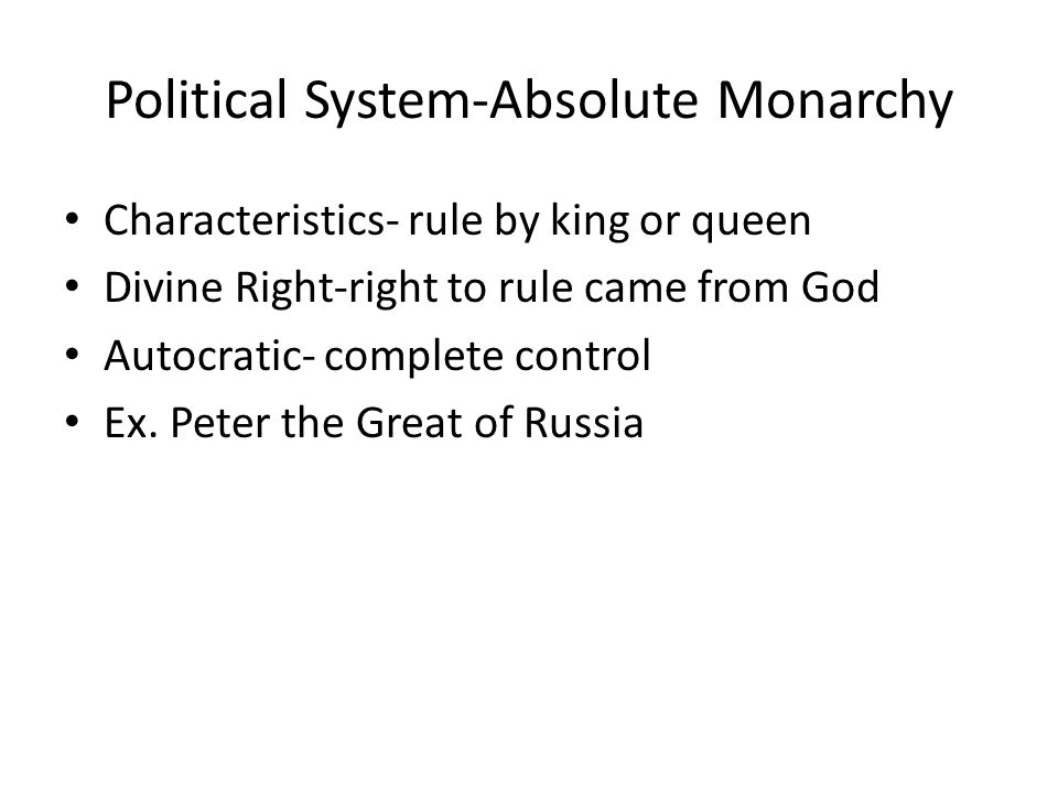 thematic essay topics ppt 8 political system absolute monarchy