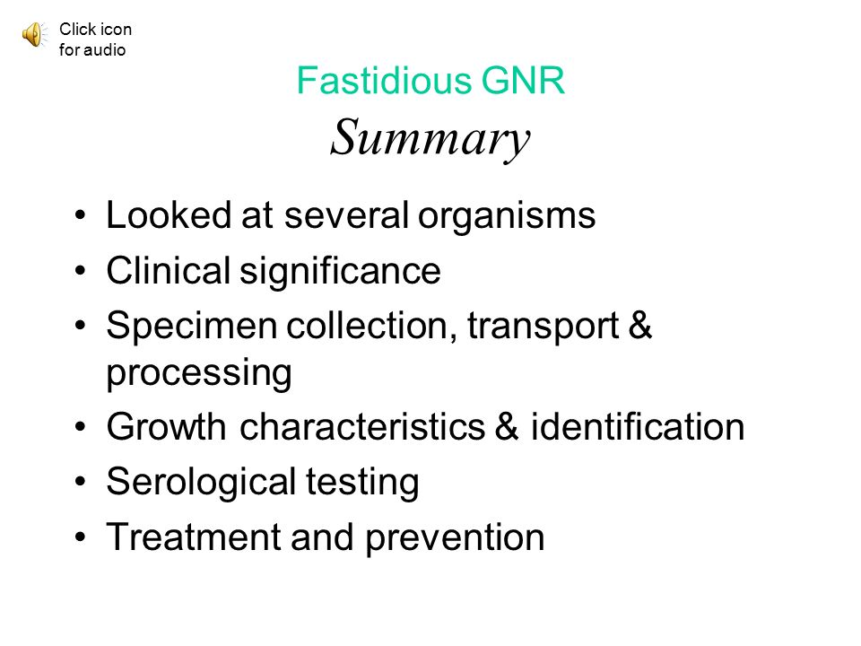 35 Fastidious GNR Summary