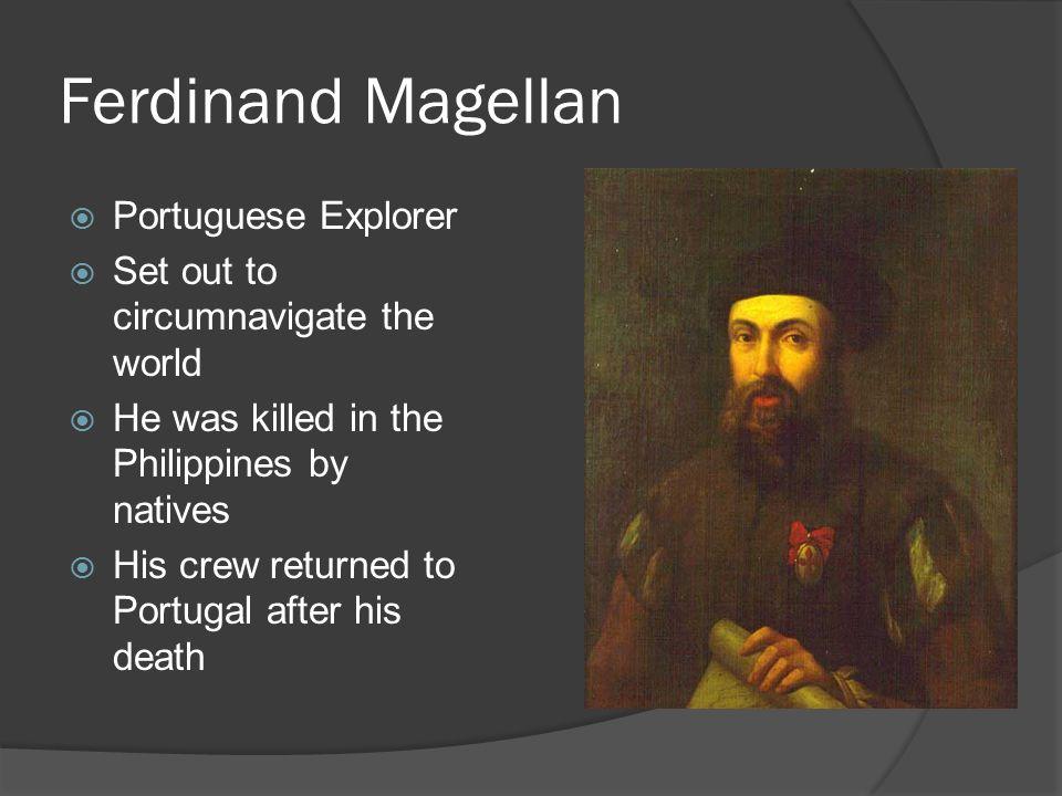 Ferdinand Magellan Portuguese Explorer: Henry The Navigator From Portugal