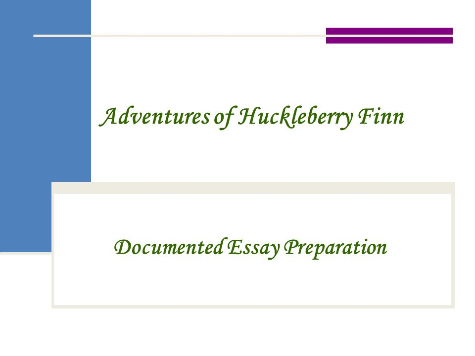 huck finn essay prompts Home → sparknotes → literature study guides → the adventures of huckleberry finn → study questions the adventures of  suggested essay  huck finn is a.