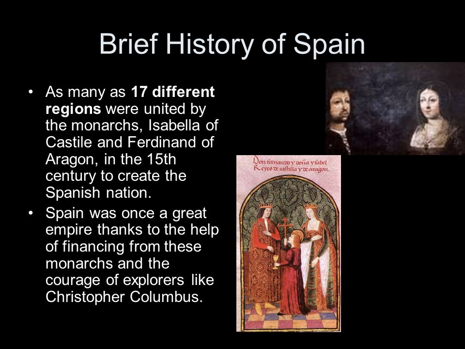 a brief history of spain a country in europe Cinnamon's spicy history author mariel synan website name historycom year published 2013 and that arab traders brought it to europe traversing the amazon hoping to find the pais de la canela, or cinnamon country.