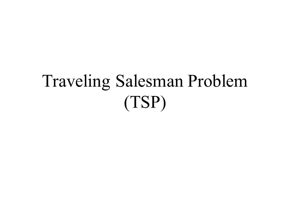 Research Paper Traveling Salesman Problem Order Custom
